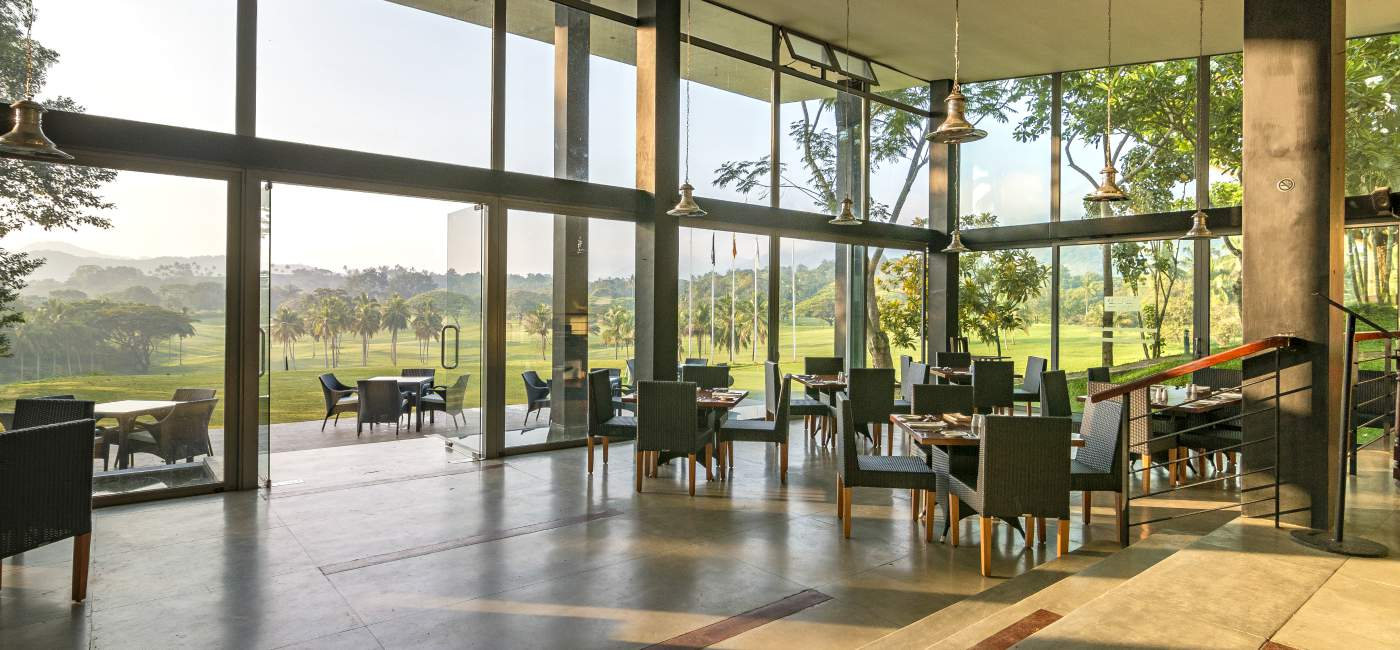 Dining Spaces at Victoria Golf & Country Resort Sri Lanka