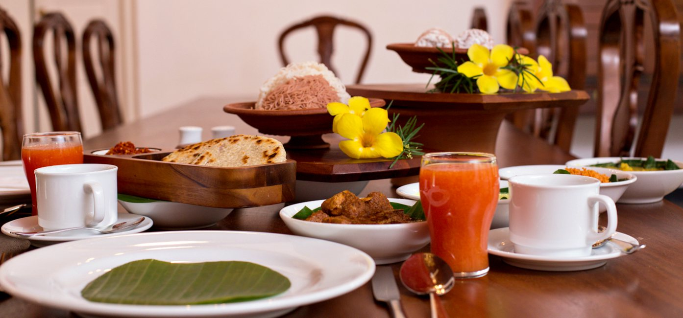 Delicious Cuisines at Victoria Golf & Country Resort Sri Lanka