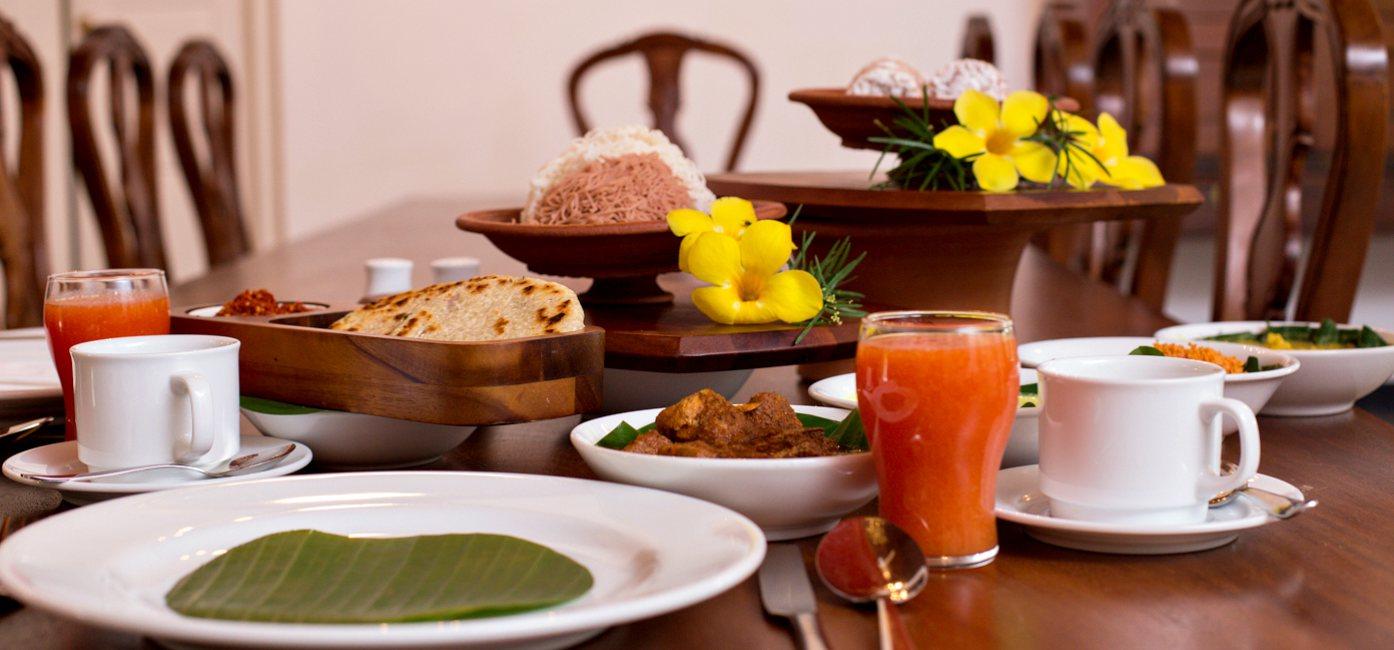 Delicious Cuisines at Victoria Golf & Country Resort Sri Lanka