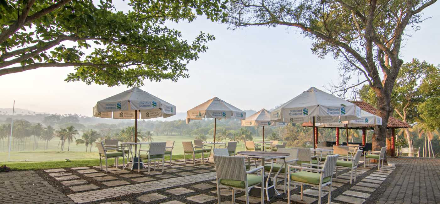 Outdoor Dining at Victoria Golf & Country Resort Sri Lanka