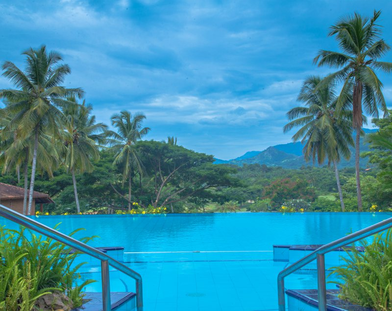 Swimming Pool at Victoria Golf & Country Resort Sri Lanka