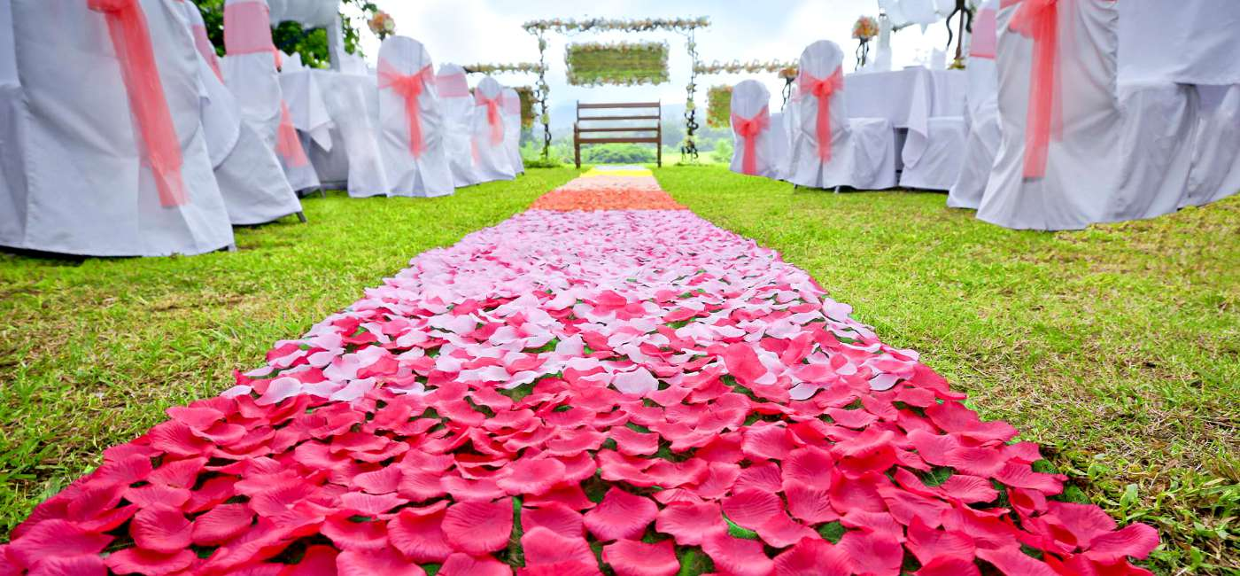 Wedding Settings at Victoria Golf & Country Resort Sri Lanka