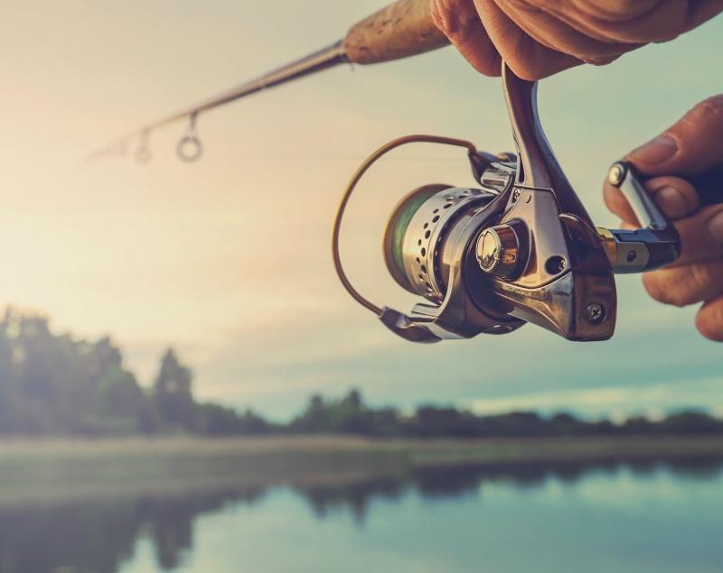 Fishing near Victoria Golf & Country Resort Sri Lanka