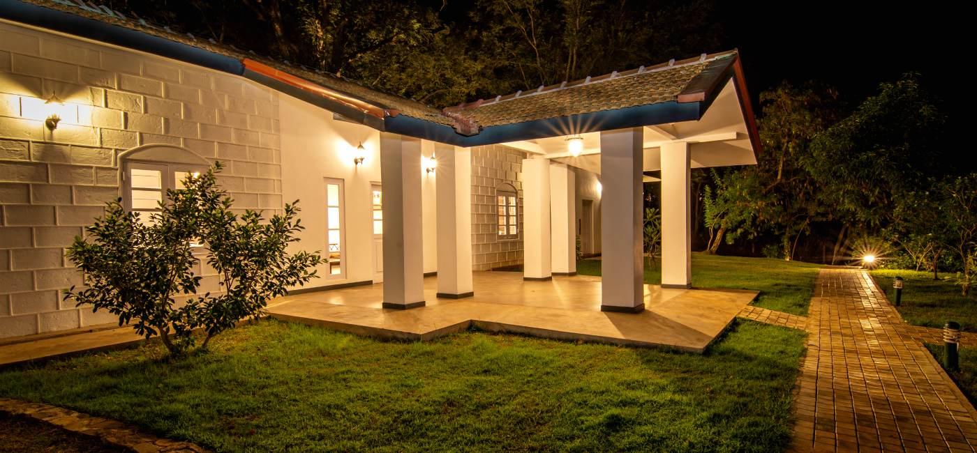 Night View of Villas at Victoria Golf & Country Resort Sri Lanka